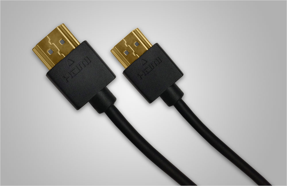 Lucido Ultra-thin HDMI Cable 1m - HDMI Cables & Connectors at Best ...